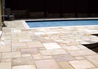 Čištění a mytí bazénové dlažby 02