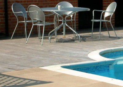 Čištění a mytí bazénové dlažby 06