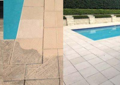 Čištění a mytí bazénové dlažby 07
