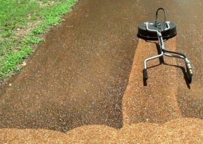 Čištění a mytí betonové dlažby 04