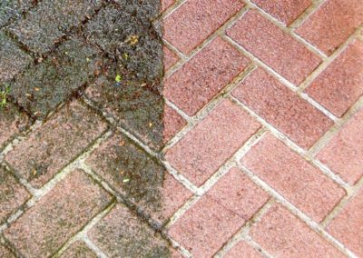 Čištění a mytí betonové dlažby 06