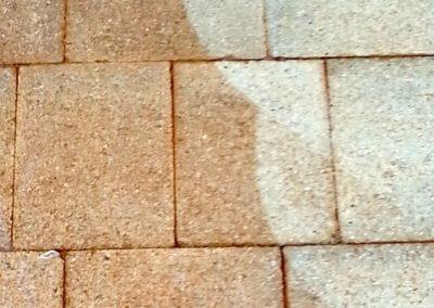 Čištění a mytí betonové dlažby 07