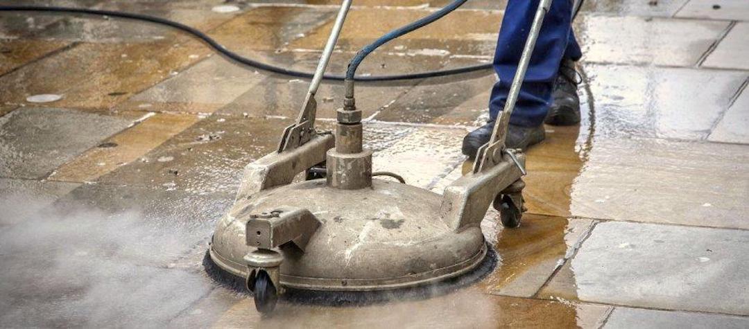 Čištění a mytí dlažby