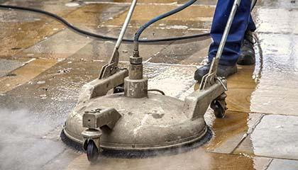 Čištění a mytí pískovcové dlažby