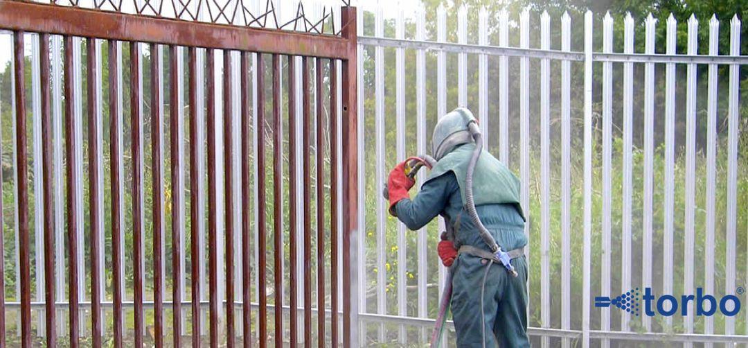 Tryskání plotů